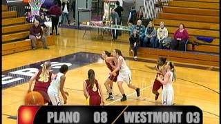 High School Girls Basketball Plano, IL vs Westmont, IL 2016