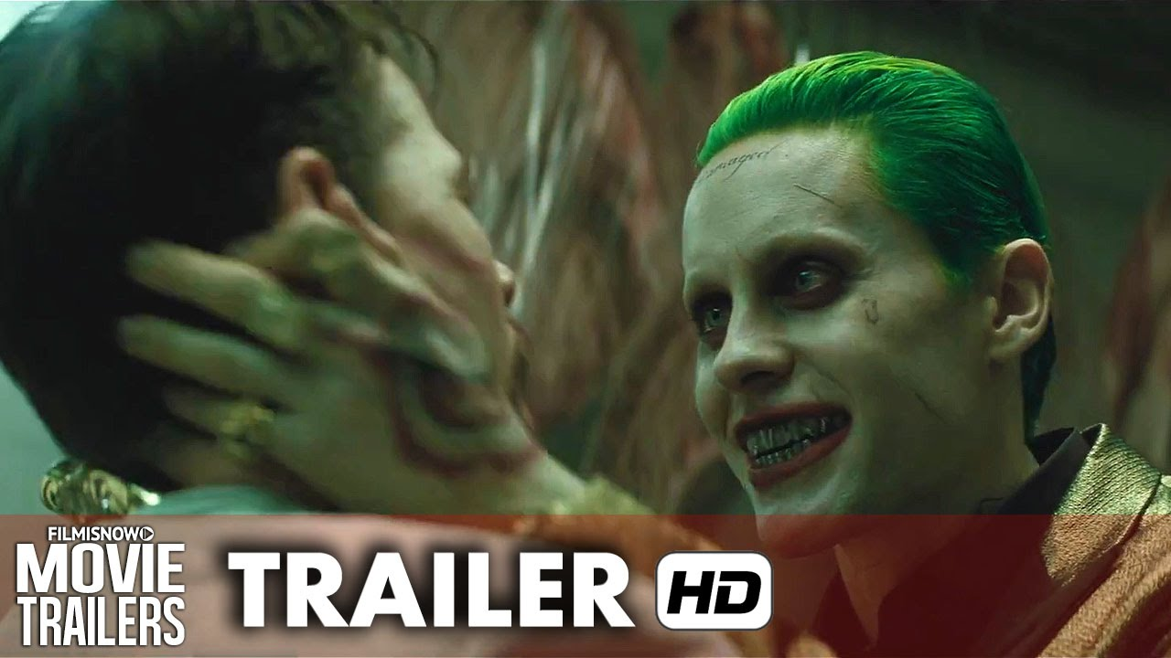 SUICIDE SQUAD Official Trailer - David Ayer DC Comics Movie [HD]