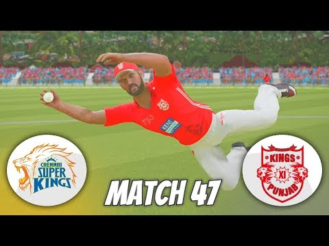 INDIAN PREMIER LEAGUE 3rd EDITION GAMING SERIES - MATCH 47 - CHENNAI SUPER KINGS V KINGS XI PUNJAB