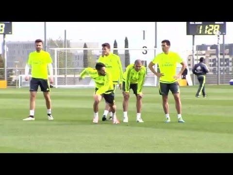 Gareth Bale returns to training!