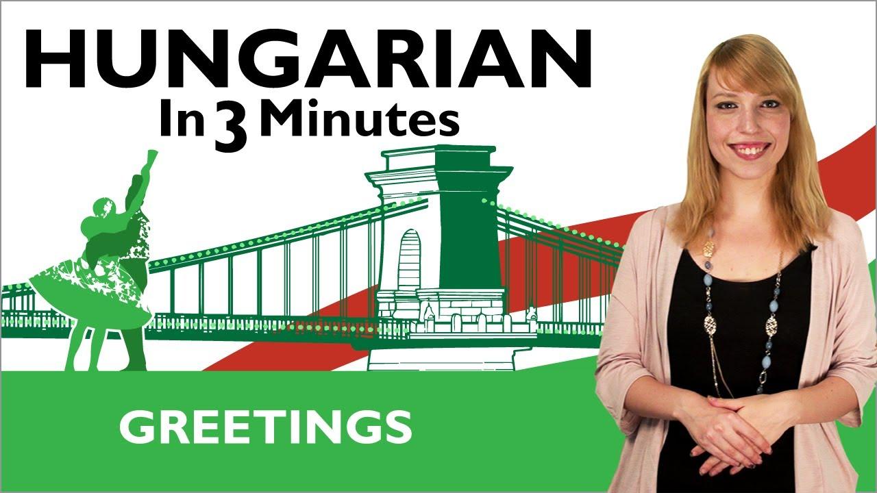 HungarianPod101 Learn Hungarian in Three Minutes