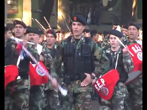 Desfile  militar 17 de junio de 2009