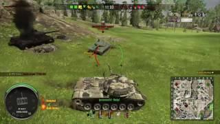 World of Tanks Xbox: M48 Patton - 6,3k Damage!