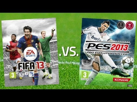 FIFA 13 vs PES 2013