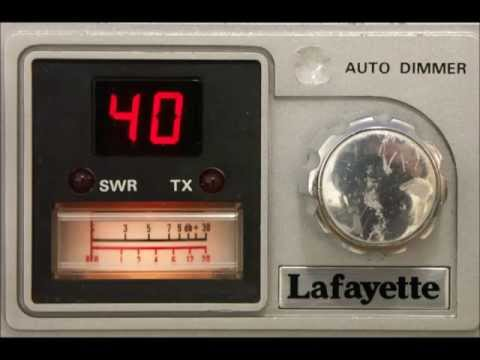 LAFAYETTE LMS-40 (FCC), AM/SSB CB-radio