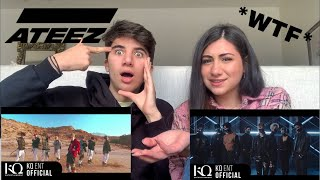 FIRST TIME Reacting To ATEEZ (Pirate King, Hala Hala)