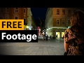 Crowd people in city town walking downtown - FREE Stock Video Footage [Download Full HD]