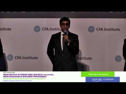 2014 Asia Pacific Regional: IIFT New Delhi