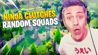 Ninja Had To Clutch This Squad Fill!