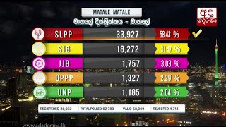 Polling Division - Matale