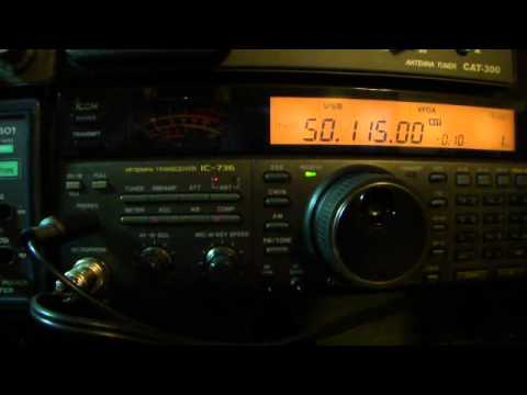 HAM RADIO VHF 50MHZ  SSB  BX2ABK & JA8NAE Contact