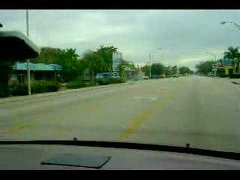 Driving Through Bradenton, FL on Manatee Avenue