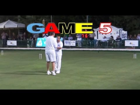 GAME 5 - Golf Croquet World Championship Final Bamford vs Nasr Cairo(HD)