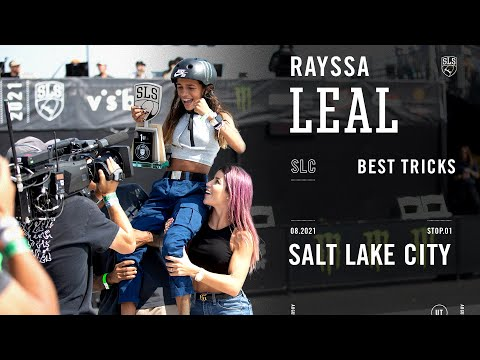 How Rayssa Leal Won SLS Salt Lake City | Best Tricks