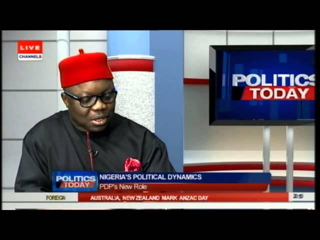 Uduaghan Blames Impunity, Lack of Internal Politics For PDP's Loss PT2 26/04/15