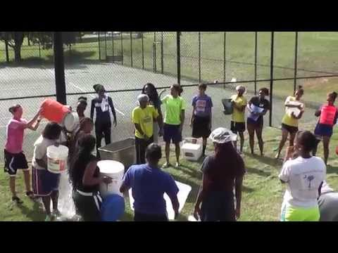 Limestone College Women's Basketball Completes ALS Ice Bucket Challenge - 8/21/2014