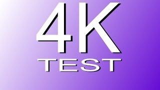 4K Video Demo, UHD: 4K RESOLUTION TEST (4K DEMO)