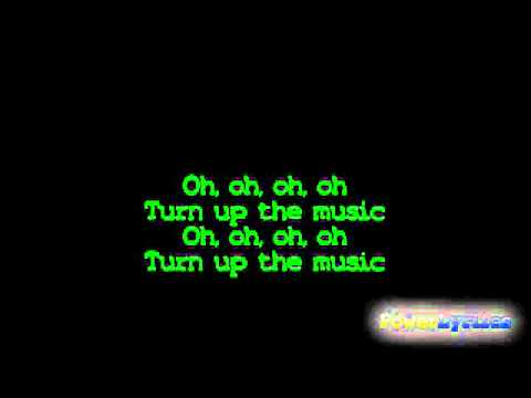 Chris Brown   Turn Up The Music Official Lyrics Video   HQ HD1