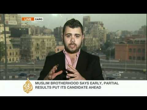 Update: Egypt's Brotherhood claims early lead
