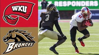 Western Kentucky vs Western Michigan First Responder Bowl | 2019 College Football Highlights