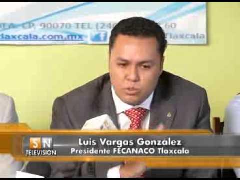 Asume Luis Vargas González, Fecanaco Tlaxcala