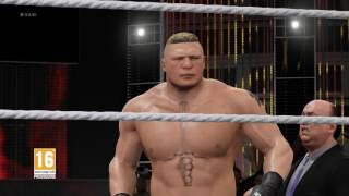 WWE 2K17 Brock Lesnar Entrance [FR]
