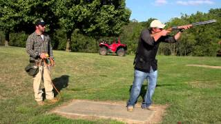 Extreme Backyarding: See the Olympic Skeet Shooter in Action