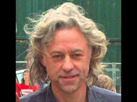 Bob Geldof radio interview, September 2013