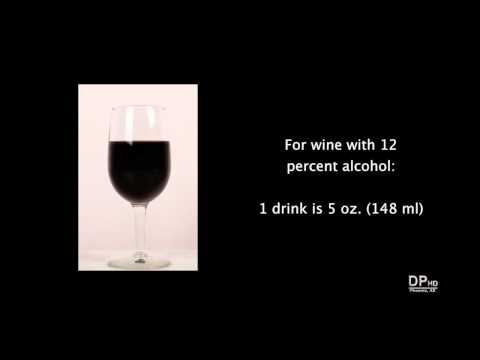 Amount of Beer, Wine, and Liquor in a Standard American Drink (Med Diet Episode 101)