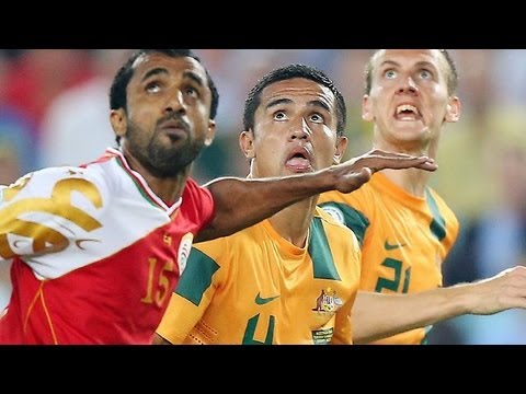Australia vs Oman: 2014 FIFA World Cup Asian Qualifiers (Final Rd, Match Day 7)