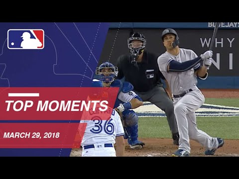 Top 10 Plays from Opening Day - 3/29/18