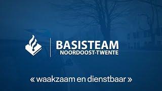 Politie Noordoost-Twente - Kijk mee met een spoedrit training (deel 2)