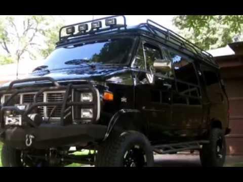Lifted Gmc 4x4 Camper Van Youtube