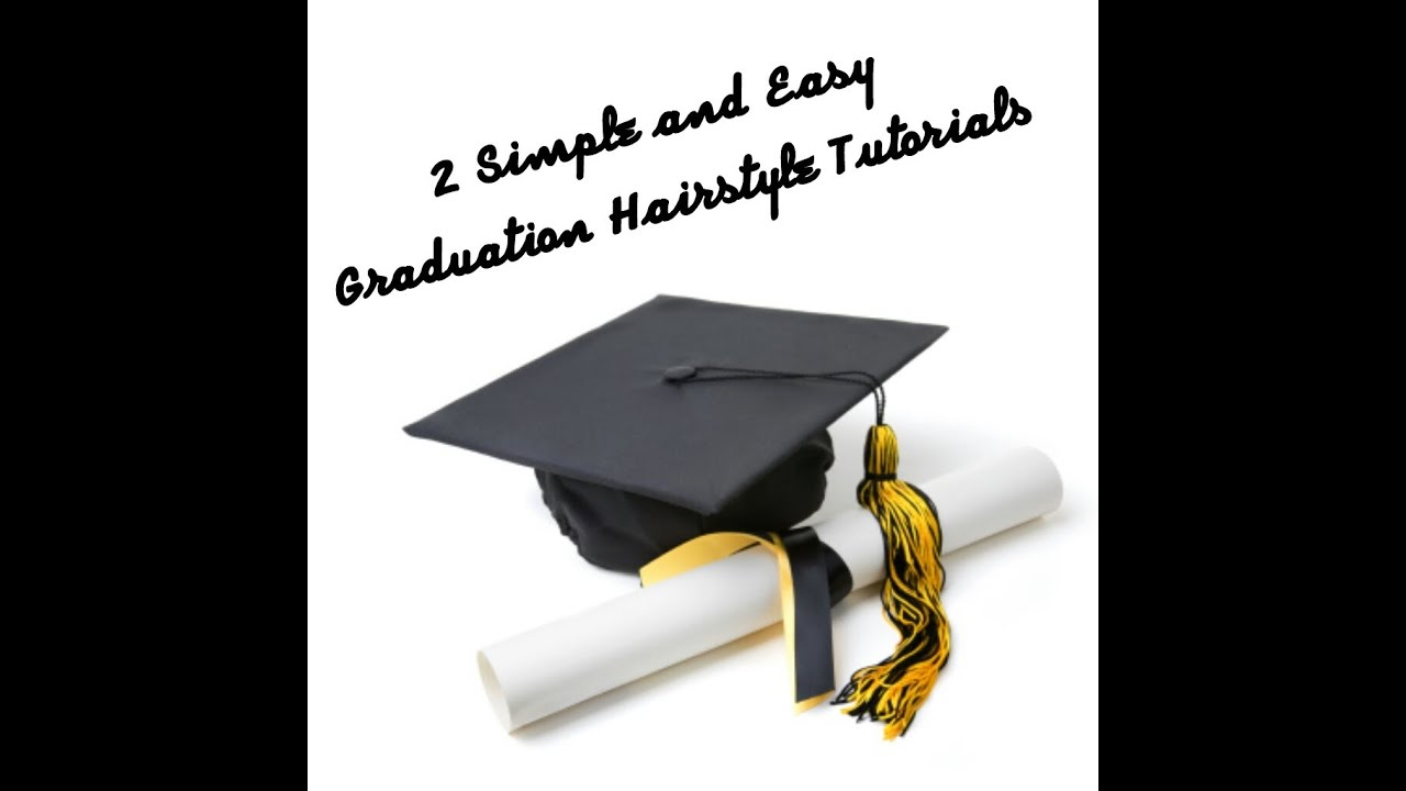 26 2 Simple And Easy Graduation Hairstyle Tutorials