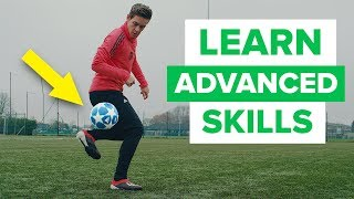 LEARN FLASHY FOOTBALL SKILLS  advanced skill moves
