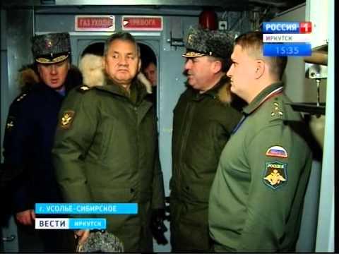 Сергей Шойгу проверил выполнение оборонзаказа на Иркутском авиазаводе, Вести-Иркутск