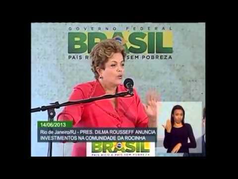 Dilma Rousseff explica a compra da Refinaria de Pasadena