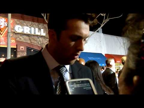 Christian Madsen On Working With Neil Burger (Divergent World Premiere)