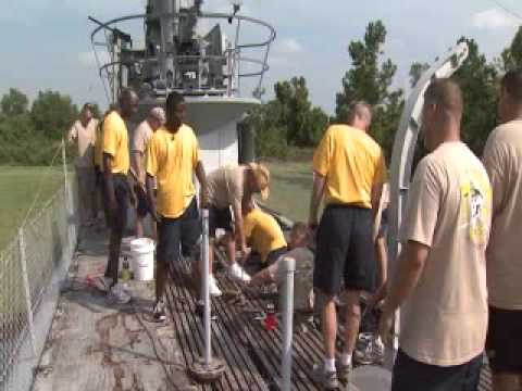 OETA Story on USS Batfish Renovation aired 09/11/09