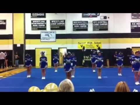 Wahconah Regional High School Cheerleading: Competition at Central High School - Leagues 2012