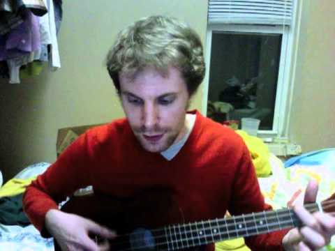 Cocaine Blues (Rev. Gary Davis, Bob Dylan, Davy Graham et al) on a baritone ukulele