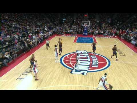 Kyrie Irving Drains the Half Court Buzzer Beater