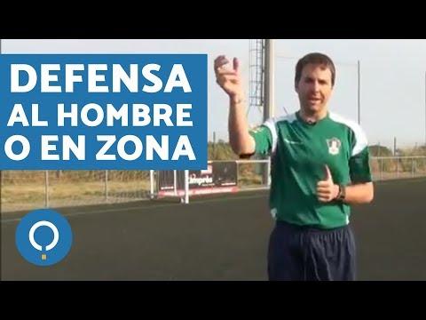 Cómo defender al hombre o en zona en fútbol soccer