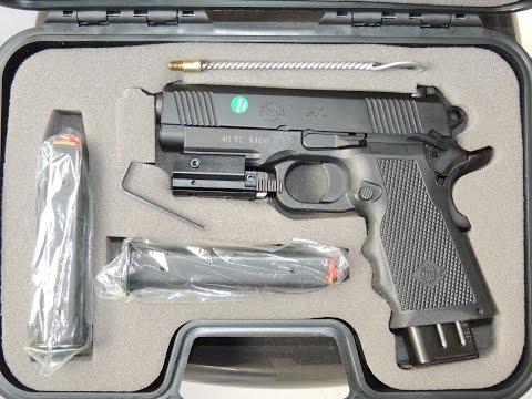 Pistola IMBEL TC MD6 .40 de cara nova