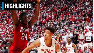 Highlights: Hoosiers Hold On in Overtime | Nebraska at Indiana | Dec. 13, 2019