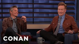 Timothy Olyphant Copies Conan's New Look - CONAN on TBS