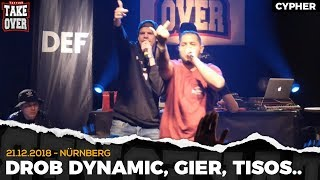 TopTier Takeover Nürnberg: 21.12.18 Die Cypher feat. Drob Dynamic, Gier uvm.