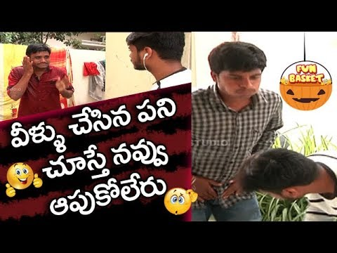Fun Basket | Telugu Action Comedy Show By Studio One | Part #9 | Studio One Tv