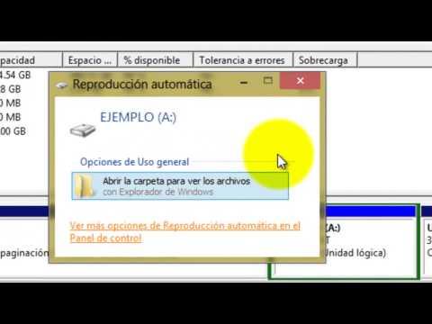 Como crear y eliminar particiones del disco duro en Windows 7 y 8 sin descargar programas