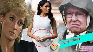 The Queen are very angry when Meghan decides to name her first twins Elizabeth and Diana